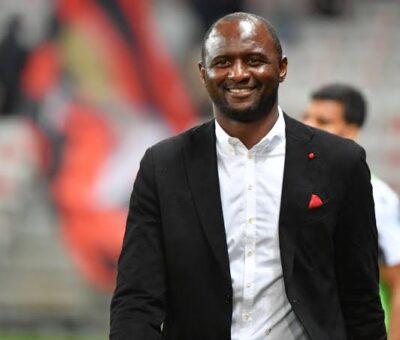 OGC Nice sacks Patrick Vieira as manager