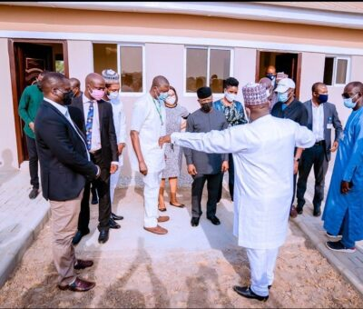 VP Yemi Osinbajo visits 300,000 Social Housing scheme built for low income earning Nigerians in FCT