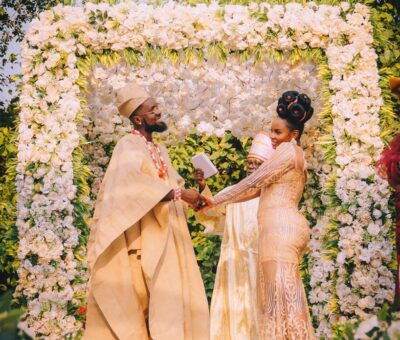 Photos From Patoranking and Yemi Alade's Traditional Ceremony