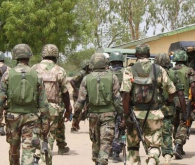 BREAKING: 127 Soldiers have reportedly resigned from Nigerian Army