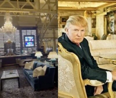 Video: Trump DC Hotel is deserted as ex-President Trump's brand weakens
