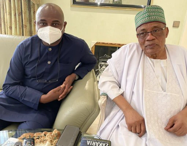 2023 Election: Kingsley Moghalu, meets with former Nigerian Head of States
