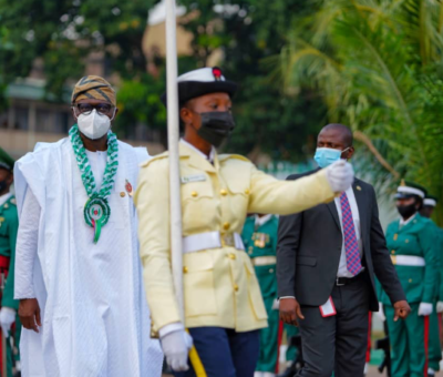 Gov. Sanwolu commends Nigerian Armed Forces over protection of lives and properties