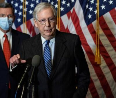 Senate Minority Leader, McConnell bows to Pressure, blames Trump for inciting Capitol violence