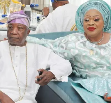 Lotto billionaire, Kessington Adebutu, losses wife