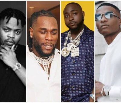 See the four musical giants of Nigeria according to Naija PR