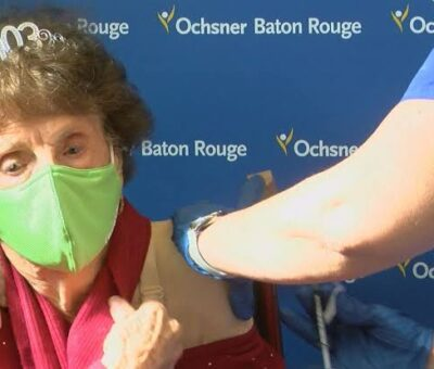 103 year old woman, Lashover who survived Spanish Flu pandemic receives COVID-19 vaccine
