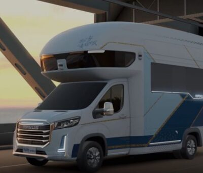 PHOTOS: China Unveils Luxury Motorhome Innovation, consists of a second storey And An Elevator