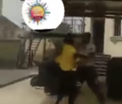 VIDEO- Female worker getting assaulted by boss caught on camera.