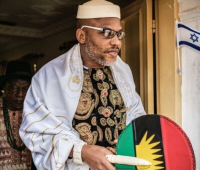 Facebook Reportedly Suspends Nnamdi Kanu's Account