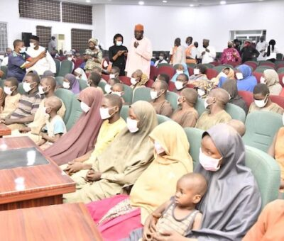 JUST IN: Abducted 27 Kagara students Regains Freedom