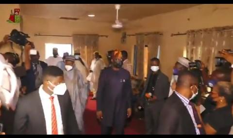 (VIDEO): Governor Seyi Makinde visits site of attacks at Shasha market alongside Northern Governors