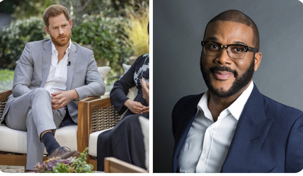 REVEAL: Tyler Perry housed the royals, provided security