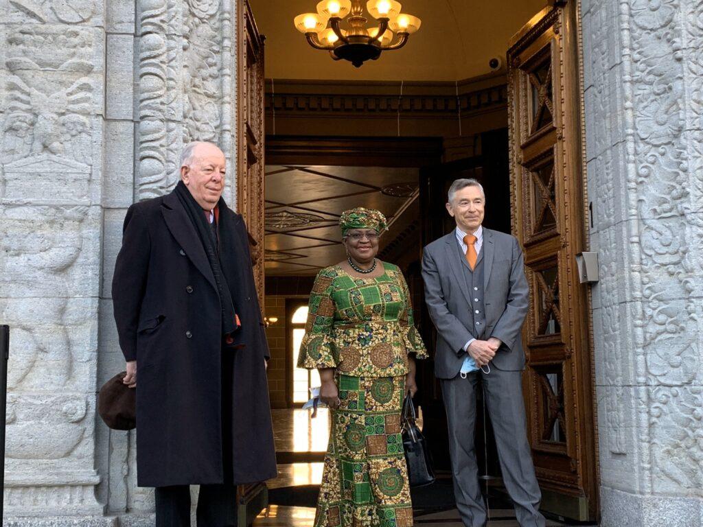 Phots as Ngozi Okonjo-Iweala resumes as new WTO DG