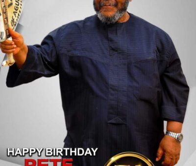 Nollywood Veteran, Pete Edochie Celebrates 74th birthday  in Grand Style
