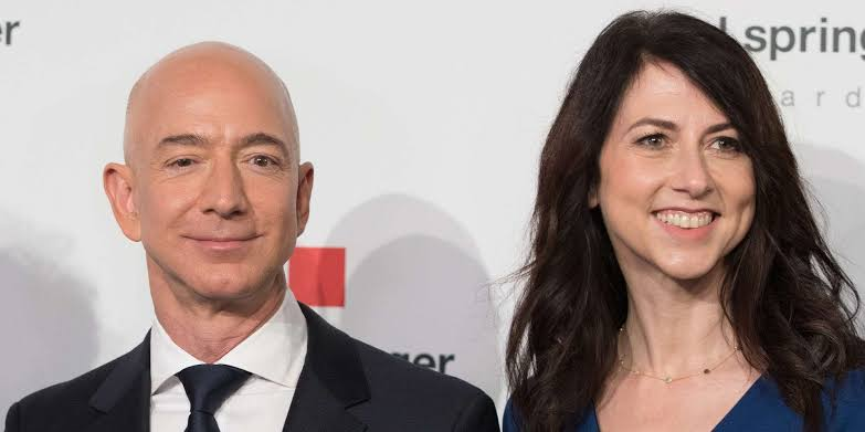 Jeff Bezos ex-wife marries  another man