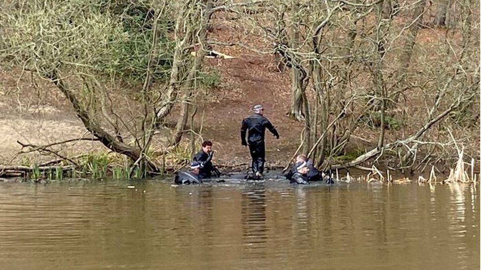 Update: Body found in a pond 'matches' Richard Okorogheye's description