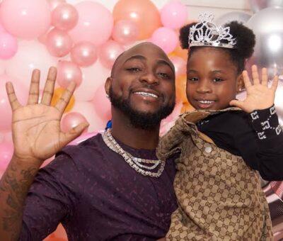 Davido's daughter, Imade, becomes ambassador for Eva Baby Soap