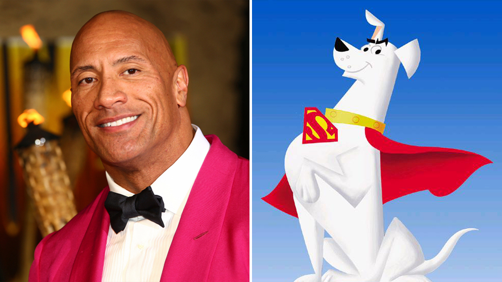 Dwayne Johnson casts as Krypto the Super-Dog in 'DC LEAGUE OF SUPER-PETS'