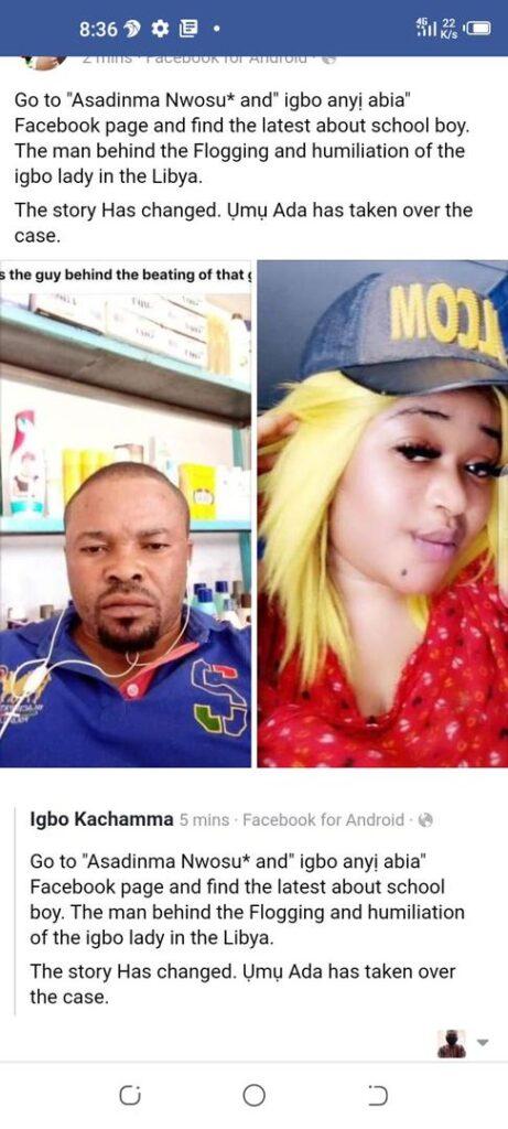 Notorious Lybia pimp nicknamed Schoolboy behind brutal beating of girl in viral video