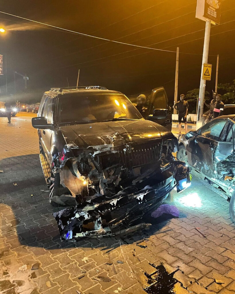 Fashion designer, Yomi Casual, survives ghastly motor accident