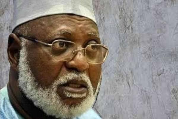 Buhari, Good luck felicitates with General Abdulsalami Abubakar as he clocks 79