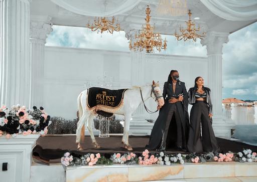 Fashion Designer,Toyin Lawani releases Stunning pre-wedding photos with fiance, Segun Wealth