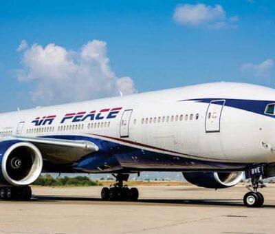 """""""Plane tyre burst""""- Air Peace explains Ilorin incident"""
