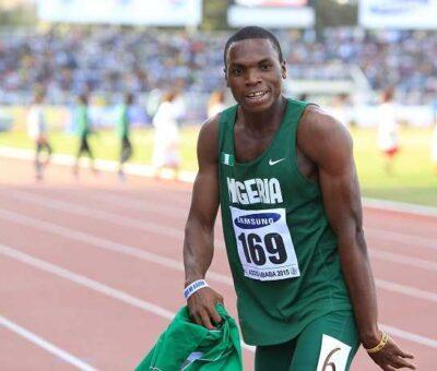 Divine Oduduru disqualified for false start in 100m heat