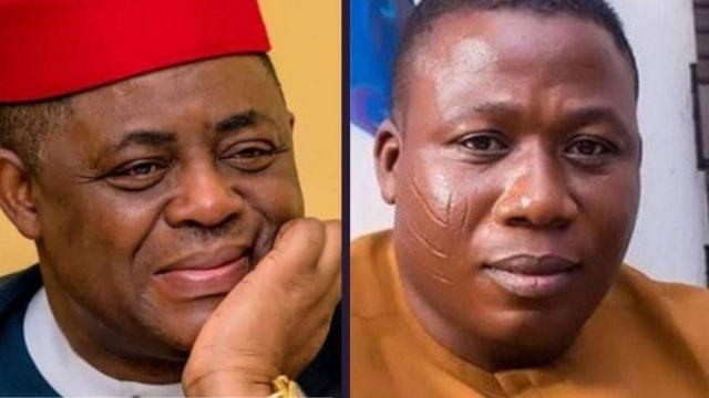 """""""The whole world is watching"""" ,- Femi Fani-Kayode reacts to Sunday Igboho's arrest"""