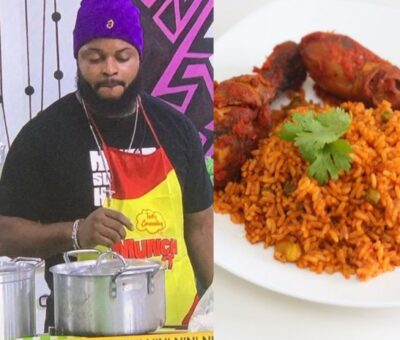 #BBNaija:'This Food Can Take Away Depression' – Housemates showers praises on White Money over his Cooking Skills