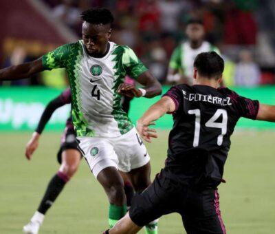 Mexico thrashed Nigeria 4-0 in an international friendly