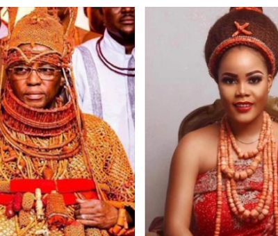 Oba of Benin welcomes quadruplets with fifth wife
