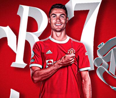 """""""I'm back where I belong!""""- Ronaldo celebrates Man-United return"""